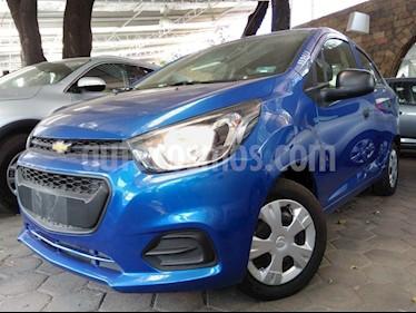 Foto venta Auto usado Chevrolet Beat LT (2019) color Azul precio $153,800