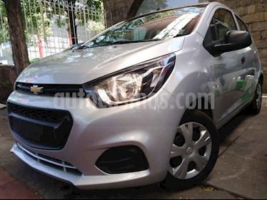 Foto venta Auto usado Chevrolet Beat LT (2018) color Plata precio $126,500