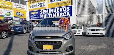 Foto venta Auto Seminuevo Chevrolet Beat LT (2018) color Gris precio $155,900