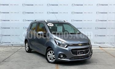 Foto venta Auto usado Chevrolet Beat LT (2018) color Gris precio $179,000