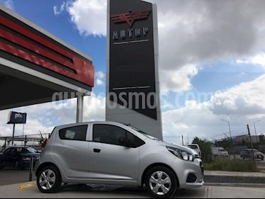 Foto venta Auto usado Chevrolet Beat LT (2018) color Plata Metalico precio $165,000