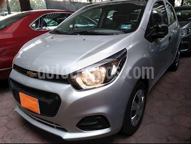 Foto venta Auto usado Chevrolet Beat LT (2019) color Plata precio $139,900