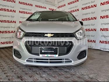 Foto venta Auto usado Chevrolet Beat LT (2018) color Plata precio $129,000