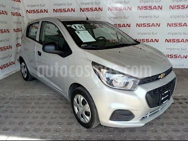 Foto venta Auto usado Chevrolet Beat LT (2018) color Plata Brillante precio $145,000
