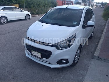 Chevrolet Beat LTZ Sedan usado (2018) color Blanco precio $145,000