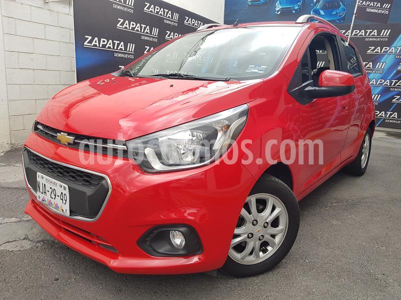 Chevrolet Beat LTZ usado (2018) color Rojo precio $148,000