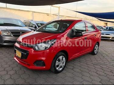 Chevrolet Beat 4p NB LS L4/1.2 Man usado (2018) color Rojo precio $140,000