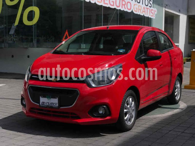Chevrolet Beat LTZ Sedan usado (2019) color Rojo precio $189,000