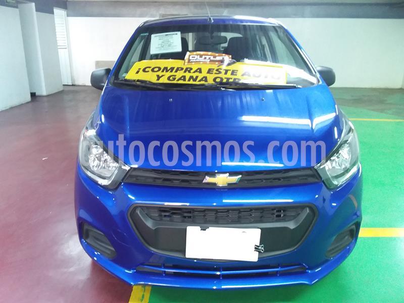 Chevrolet Beat LT usado (2020) color Azul Denim precio $168,000