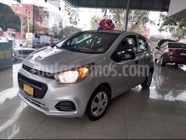Foto Chevrolet Beat 5P LT 1.2L TM5 MP3 A/AC. VE DEL. R-14 usado (2018) color Plata precio $135,000