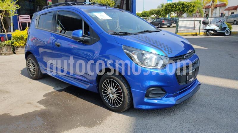 Chevrolet Beat Hatchback LT usado (2019) color Azul Indigo precio $185,000