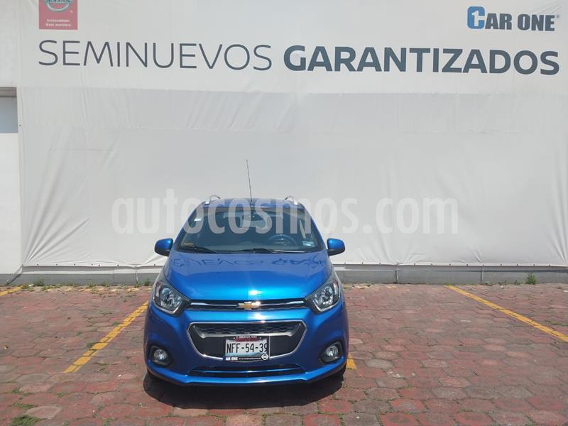 Chevrolet Beat LTZ usado (2018) color Azul Espacio precio $149,900