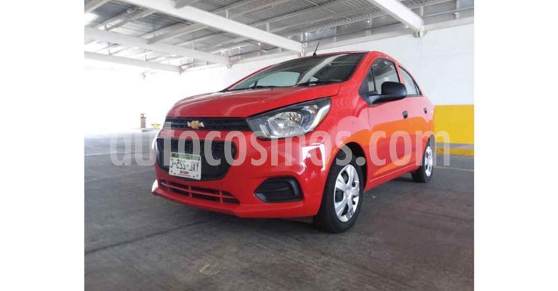 Chevrolet Beat LT Sedan usado (2019) color Rojo precio $139,900