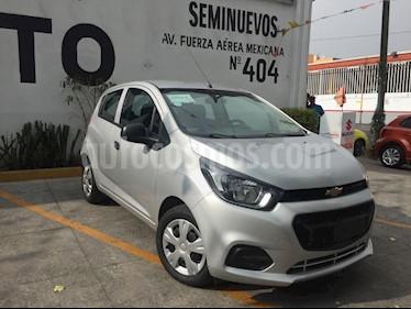 Chevrolet Beat LT usado (2019) color Plata precio $154,000