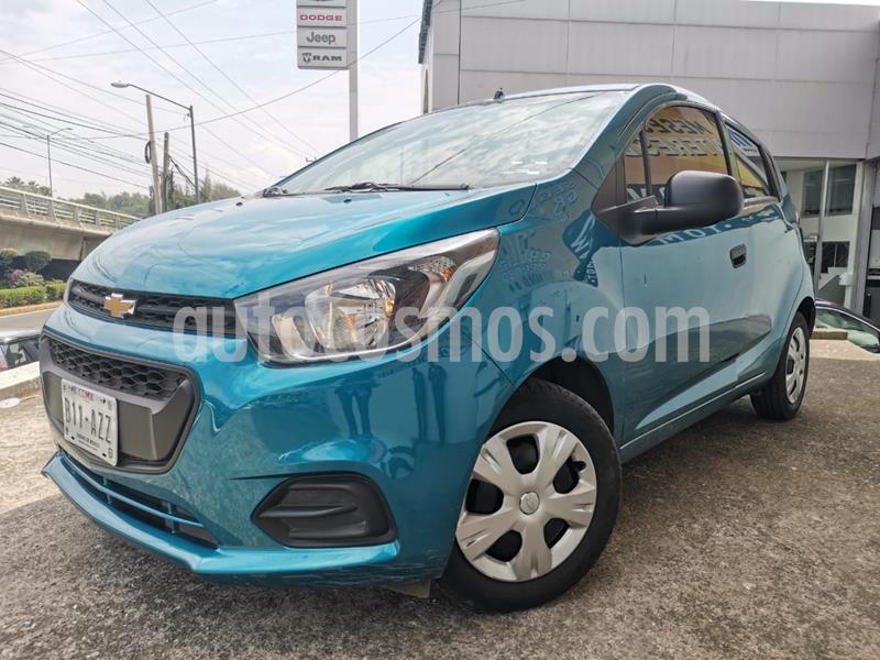 Chevrolet Beat Hatchback LS usado (2019) color Azul precio $133,000