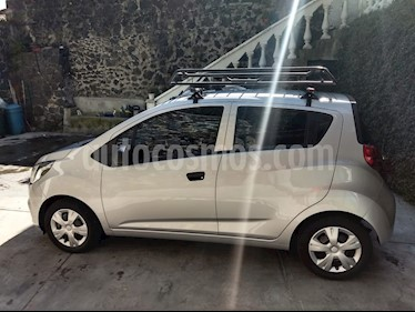 Chevrolet Beat LS usado (2018) color Plata Metalico precio $115,000