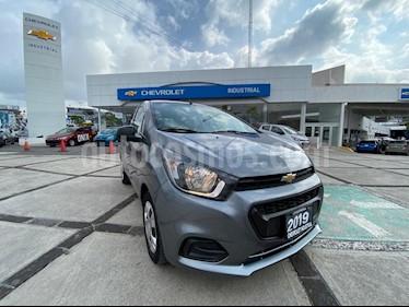 Chevrolet Beat LT usado (2019) color Gris Titanio precio $149,000