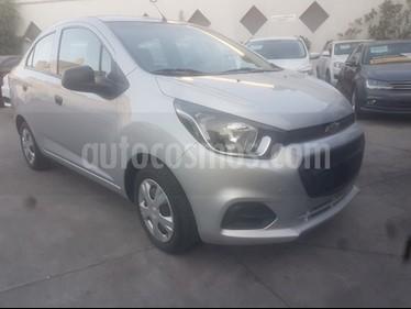 Chevrolet Beat LT usado (2019) color Plata precio $156,800