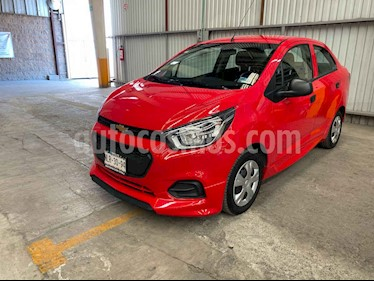 Chevrolet Beat 4p LT B TM usado (2020) color Rojo precio $170,000