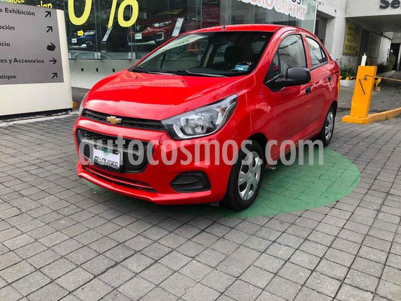 Chevrolet Beat LT Sedan usado (2019) color Rojo precio $165,000