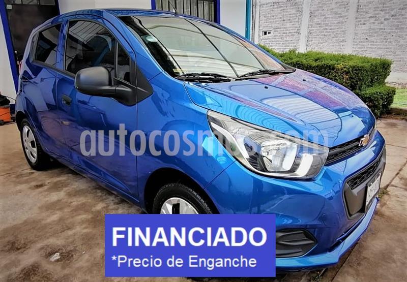 Chevrolet Beat LS usado (2018) color Azul Espacio precio $23,499