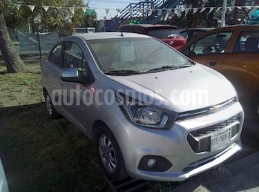 Chevrolet Beat LTZ Sedan usado (2018) color Plata precio $182,000