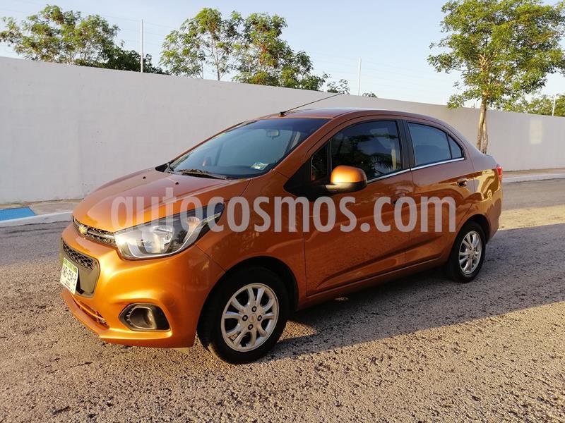 Chevrolet Beat LTZ Sedan usado (2019) color Naranja precio $138,000