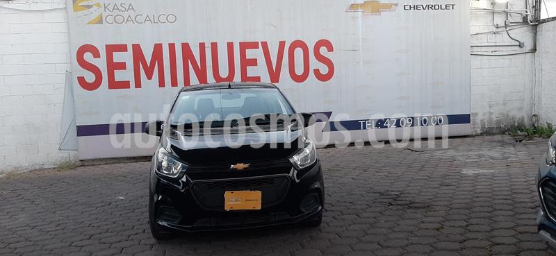 Chevrolet Beat LS Sedan usado (2018) color Negro precio $120,000