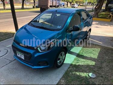 Chevrolet Beat LT Sedan usado (2019) color Azul Electrico precio $179,000