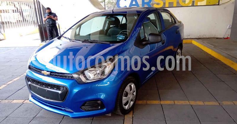 Chevrolet Beat LT Sedan usado (2020) color Azul precio $146,900