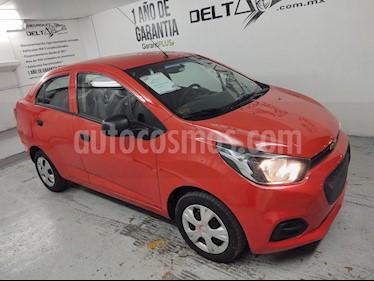 Chevrolet Beat LT Sedan usado (2019) color Rojo precio $163,000