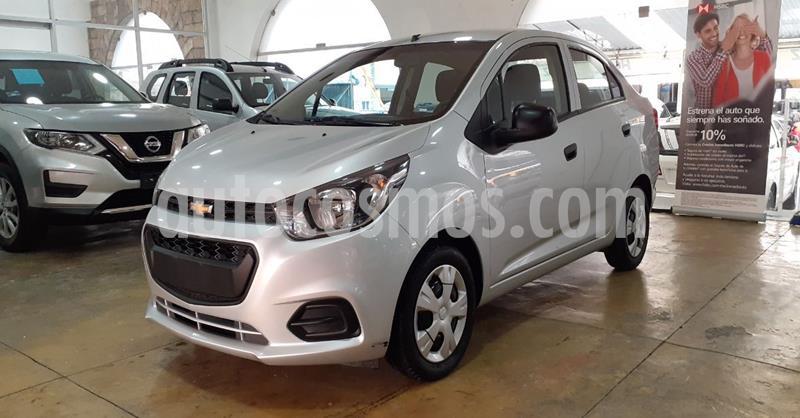 Chevrolet Beat LT usado (2019) color Plata Dorado precio $139,900