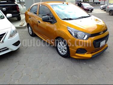 Chevrolet Beat LT Sedan usado (2019) color Naranja precio $167,000