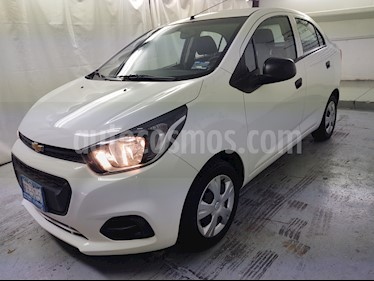 Chevrolet Beat LT Sedan usado (2019) color Blanco precio $156,900
