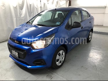 Chevrolet Beat LT usado (2020) color Azul precio $154,900