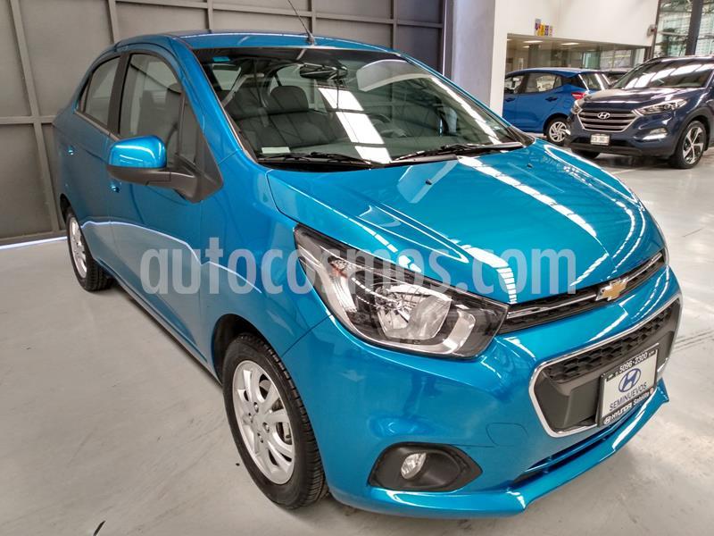 Chevrolet Beat LTZ Sedan usado (2020) color Azul precio $196,900