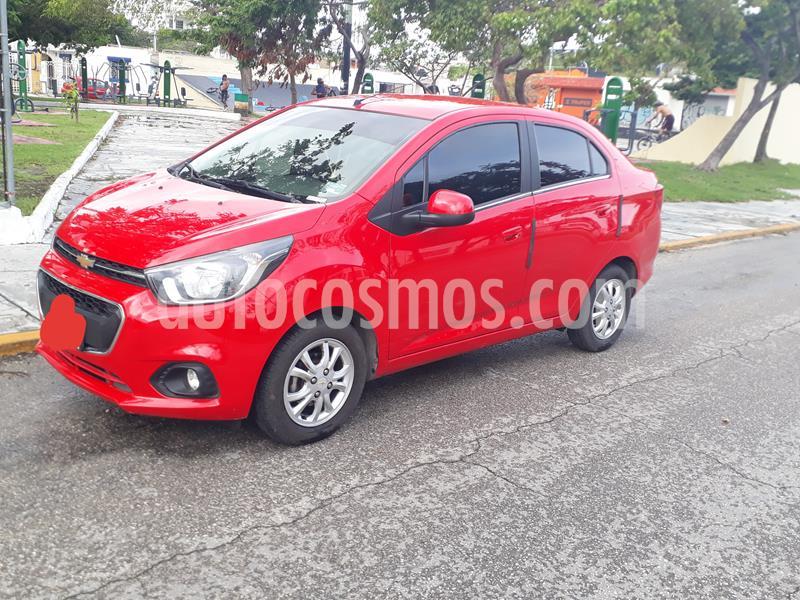 Chevrolet Beat LTZ Sedan usado (2019) color Rojo precio $165,000