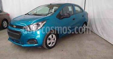 Chevrolet Beat 4p LT B TM usado (2020) color Azul precio $149,900