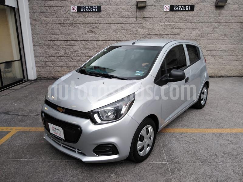 Chevrolet Beat LT usado (2018) color Plata Dorado precio $122,000