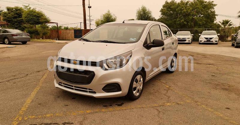 Chevrolet Beat LT Sedan usado (2020) color Plata precio $143,900