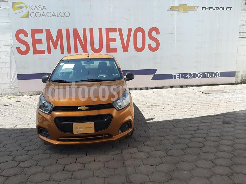 Chevrolet Beat LT usado (2019) color Naranja precio $180,000
