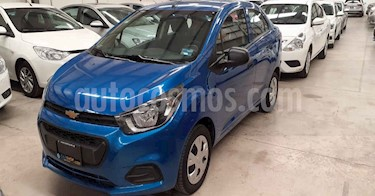 Chevrolet Beat 4p NB LT L4/1.2 Man usado (2019) color Azul precio $139,900