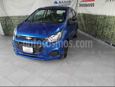 Chevrolet Beat LS usado (2018) color Azul Espacio precio $117,000