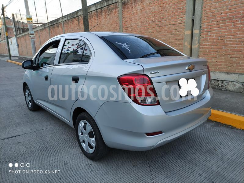 Chevrolet Beat LS Sedan usado (2018) color Plata Metalico precio $123,000