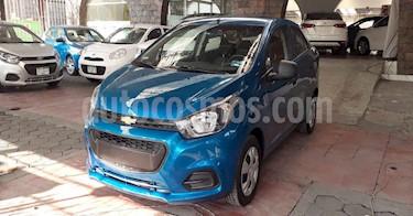 Chevrolet Beat 4p LT B TM usado (2020) color Azul precio $156,900