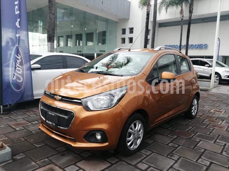 Chevrolet Beat LTZ usado (2018) color Naranja precio $149,500