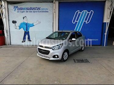 Chevrolet Beat 5p LTZ L4/1.2 Man usado (2018) color Plata precio $65,000