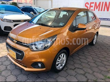 foto Chevrolet Beat 4P LTZ 1.2L TM5 MP3 A/AC. VE F. NIEBLA RA-14 usado (2018) color Naranja precio $175,000
