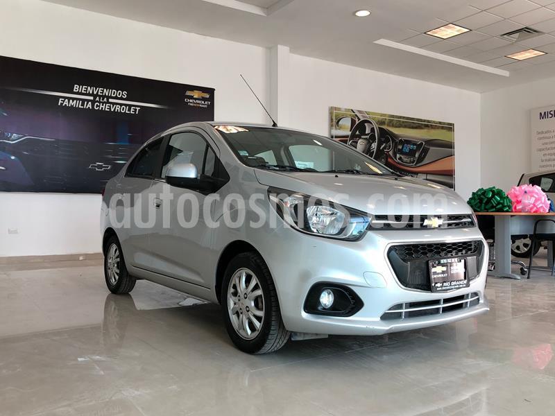 Chevrolet Beat LTZ Sedan usado (2018) color Plata Dorado precio $160,000