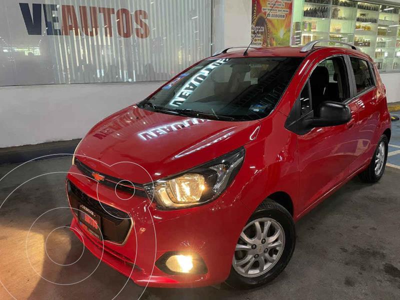 Chevrolet Beat Hatchback LTZ usado (2019) color Rojo precio $148,000
